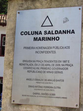 Coluna Saldanha Marinho