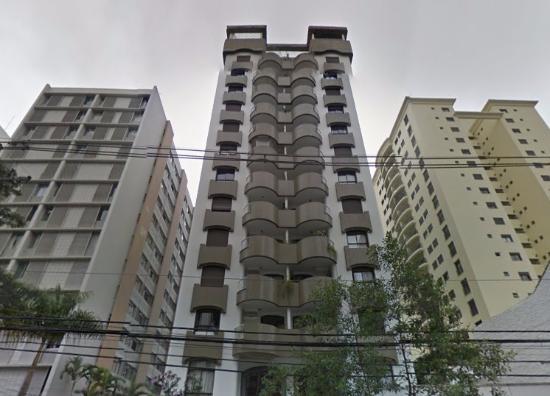 Paulista Flat : frente do hotel