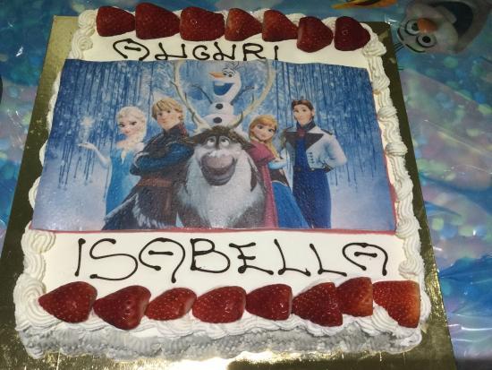 Torta Di Compleanno Personalizzata Picture Of Pasticceria