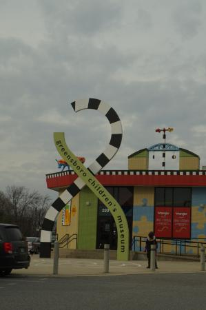 กรีนสโบโร, นอร์ทแคโรไลนา: Museu infantil de Greensboro