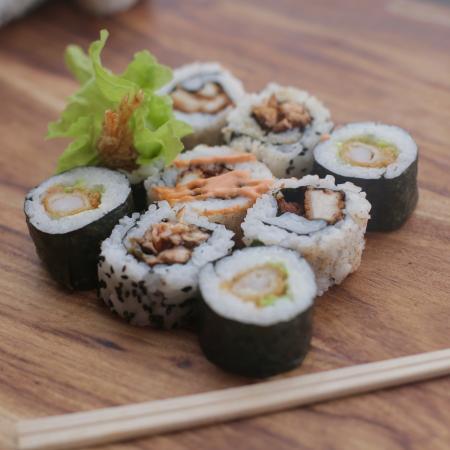 Street Sushi: Made fresh everyday