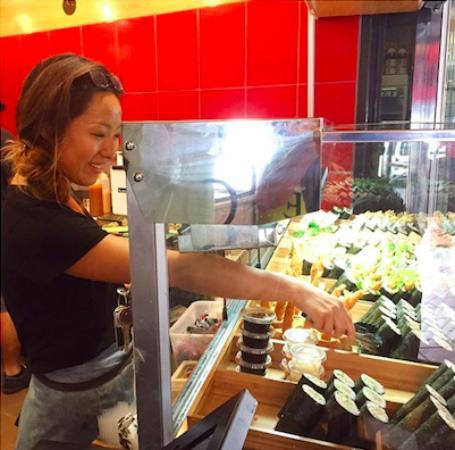 Street Sushi: Friendly Staff