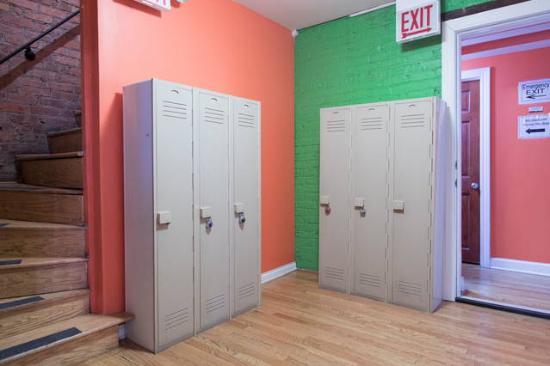 Wrigley Hostel Lockers