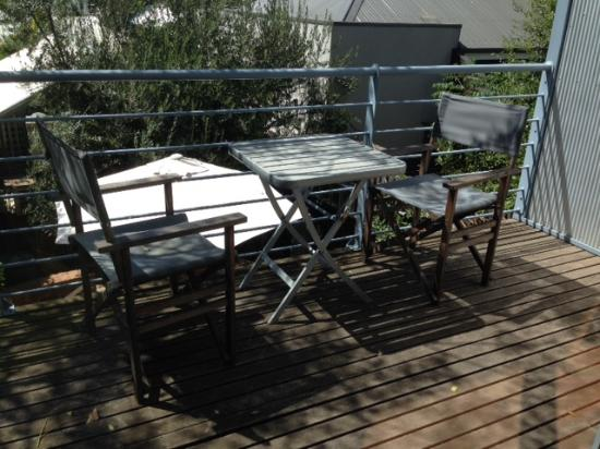 Kensington B&B: the sunny patio is a lovely spot to enjoy some relaxed time