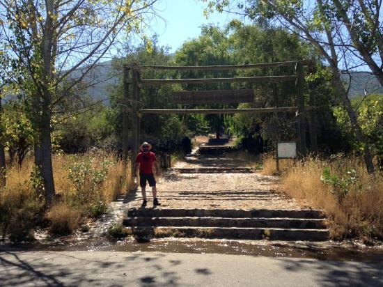 Rancagua, Chile: Partida al trekking...
