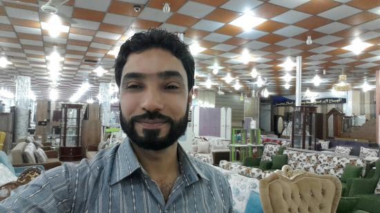 الناصرية, العراق: في مع ض سيد الأثاث