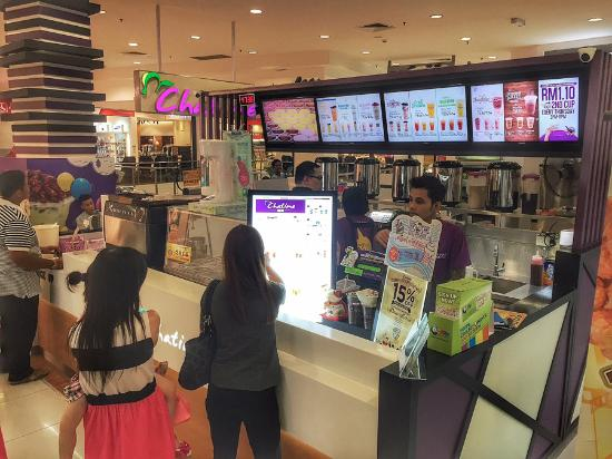 Nice Chatime Cafe In Kluang Mall Review Of Malaysia Tripadvisor