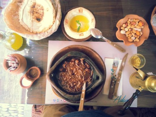 Adonai Le Petit Libanais: at Adonai, Byblos, Lebanon
