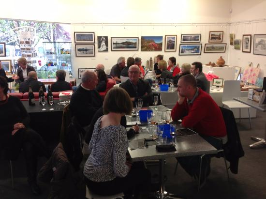 A small function at the Scottsdale Art Gallery Cafe - Picture of