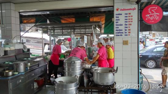 Hainanese Chicken Stall: The chicken rice stall & menu