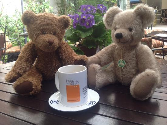 Hotel Liberty: The Hosts collect many Teddybears. Very lovely!