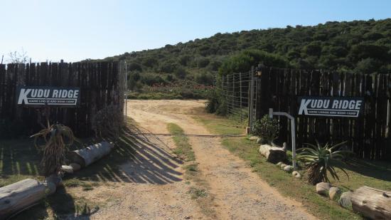 Addo, Sudáfrica: Entrance to Kudu Ridge Game Ranch