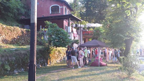 Gandria, Suiza: Il grotto anche per degli eventi privati
