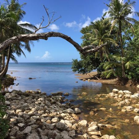 Agat, Mariana Islands: View from the Bridge