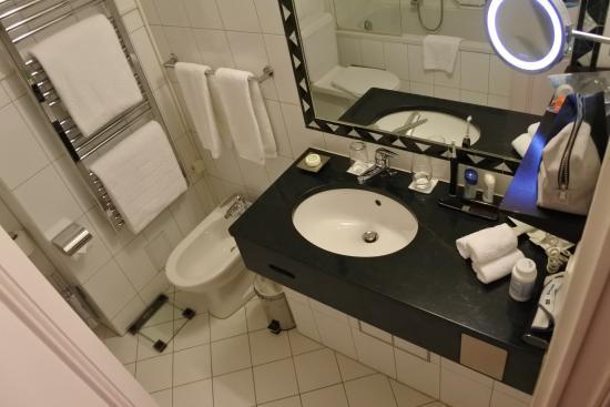Superschone modern ingerichte badkamer van alle luxe voorzien