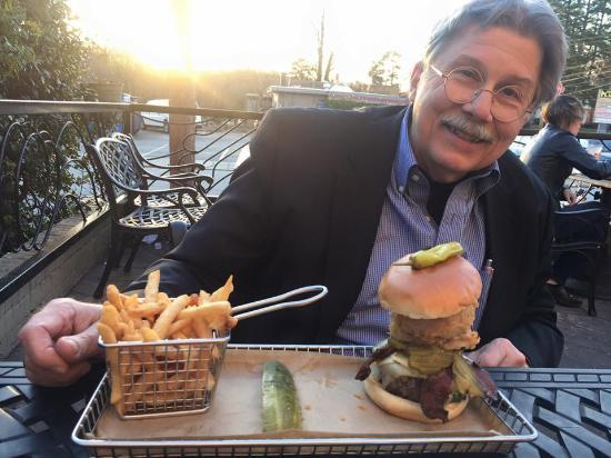 """Hops Burger Bar: The special """"off the menu"""" burger"""