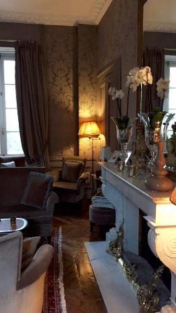 Chateau De Lalande: Salon