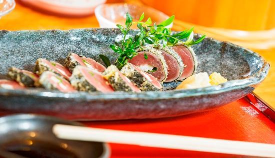 Hotel Seehof: Dinner at Restaurant Saku