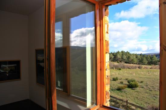 Pandorado, Hiszpania: Vista ventana habitación doble
