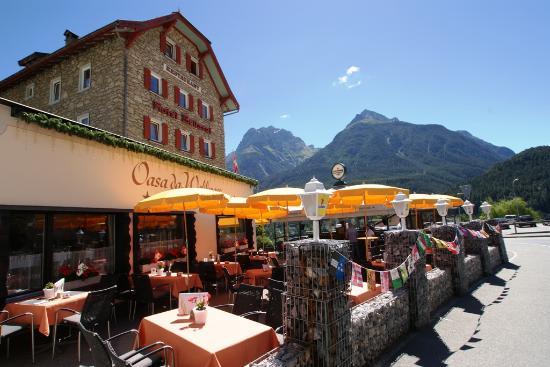 Hotel Bellaval: Sonnen-Terrasse