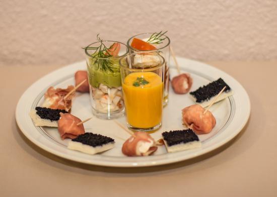 Logis La Cle des Champs : Création culinaire