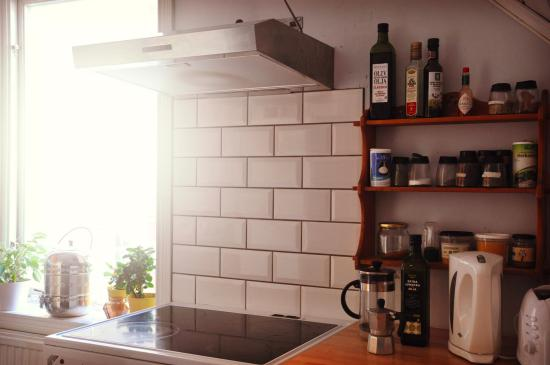 Lund, Szwecja: Shared kitchen will all you need readily stocked