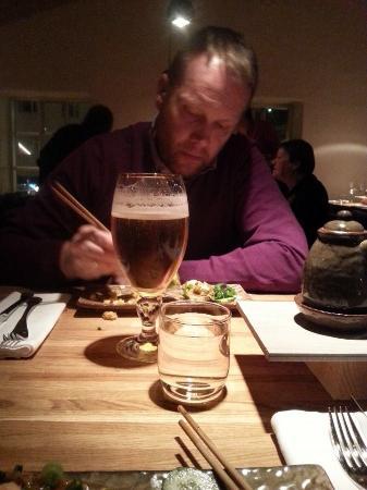 Rub 23: Sushi and Stella Artois at Rub23