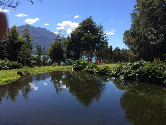 Andes Lodge: view from the lodge