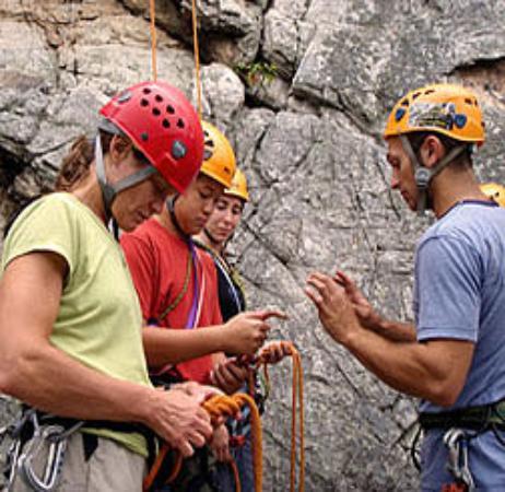 Seneca Rocks, WV: Climbing class