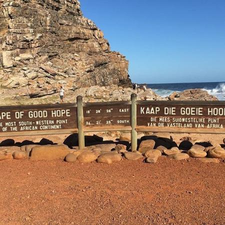 Edgemead, Republika Południowej Afryki: Cape Point, most South-Westerly point of the continent.