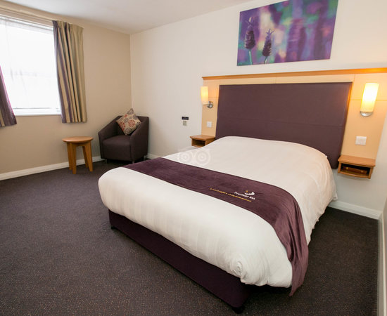 The Disabled Access Room With Bath at the Premier Inn Leeds East Hotel