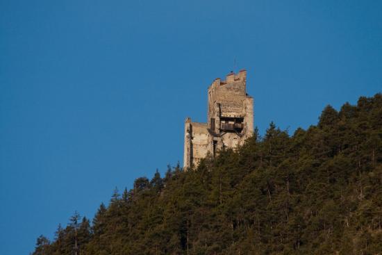 Burg Schrofenstein Bei Landeck / Stanz