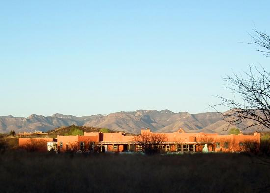 Saint David, AZ: View of the back of the B&B