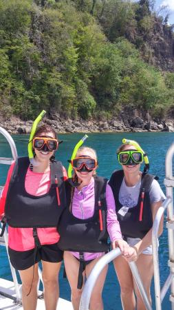 DFH Kayaking: Pre-snorkeling!