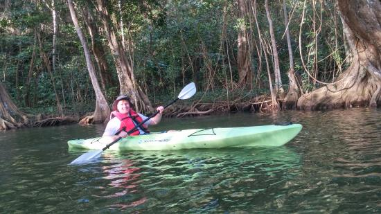 DFH Kayaking: First timer and he is hooked! :-)