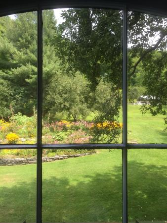 October Country Inn: summer view from room #9