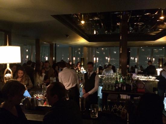Looking over the bar - Picture of Aqua Shard, London - TripAdvisor