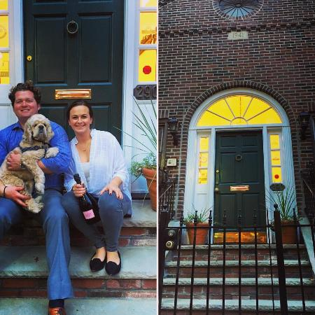 La Cappella Suites: Owners in front of La Cappella