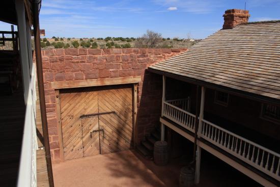 Fredonia, AZ: Inside the Fort