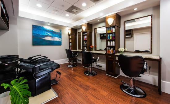 La Mer Spa at the Grand Cayman Marriott Beach Resort: Hair Salon at Marriott Spa and Salon