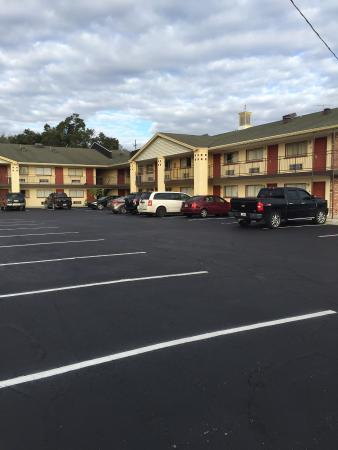 Best Motel Lakeland: Courtyard