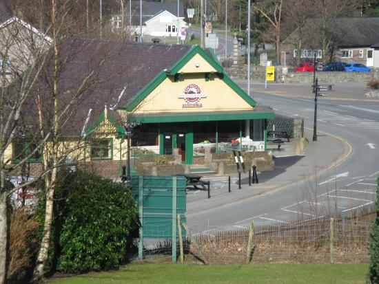 Snowdon Railway Station Picture Of The Royal Victoria Hotel