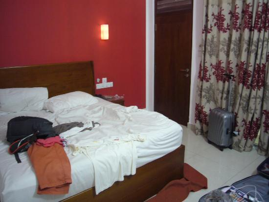 Hotel Travellers Nest : photo prise avec le maximum de recul !!!