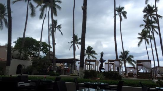 Crown Paradise Golden Resort Puerto Vallarta: view from buffet