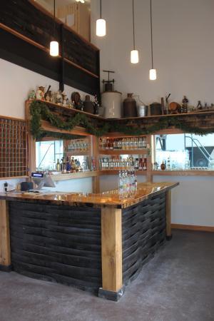 Morrisville, VT: The Tasting Room/Retail Shop