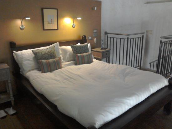 The Corran Resort & Spa: Our mezzanine bedroom