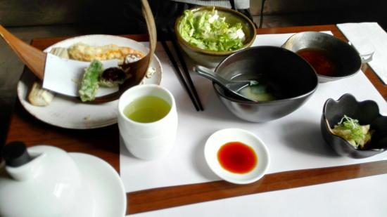 Zipang: sushi menu for lunch