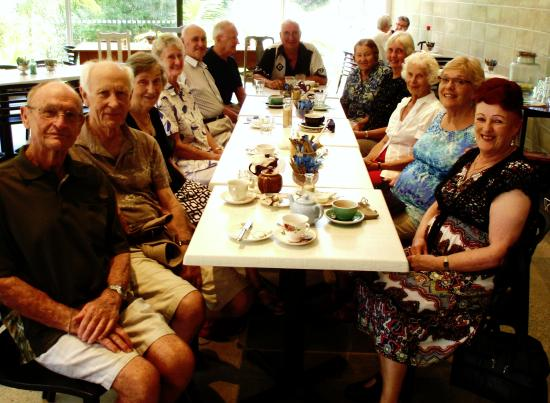 Whangarei, New Zealand: A birthday party at the Quarry Gardens
