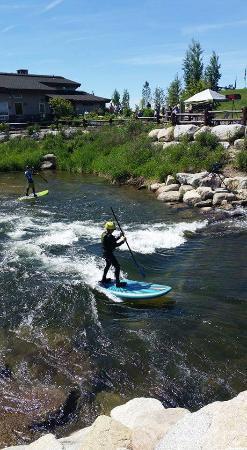 Cascade, ID: Smaller rapids near the KWP visitor center.