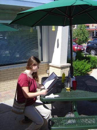 Hubbard Avenue Diner: the patio is delightful (we sometimes bring our dogs along)